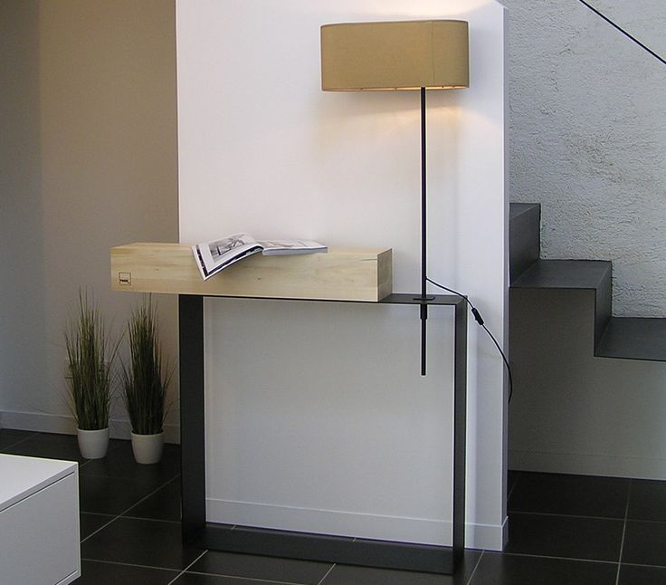 Troy console table and Lamp 2