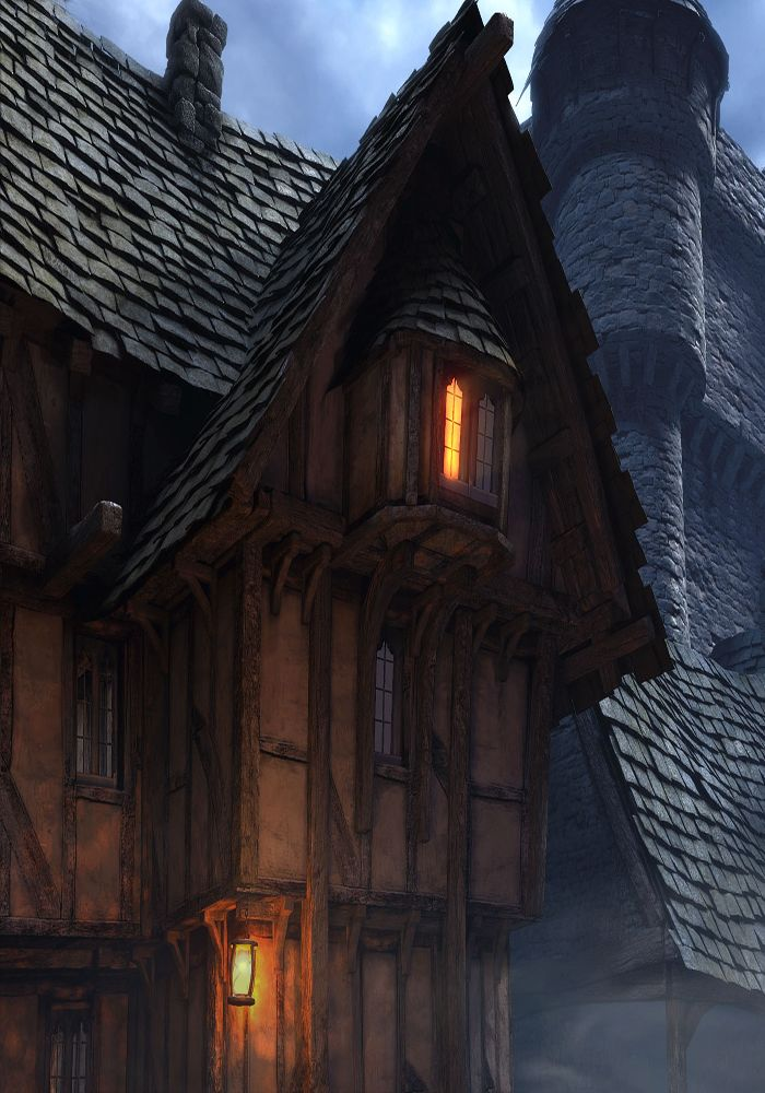 Digital painting - Architecture | #Bree? :)