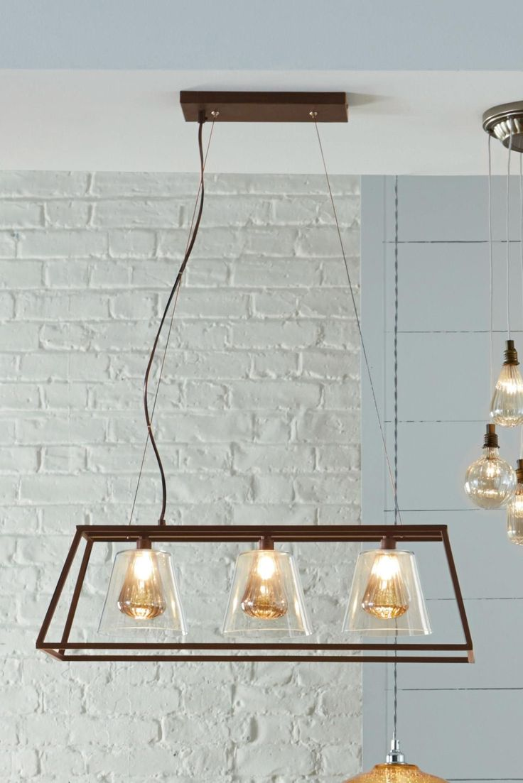 Buy Islington 3 Light Pendant Bar From The Next UK Online Shop