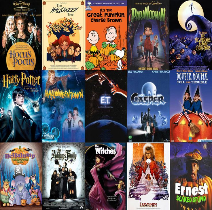15 of the very best halloween movies for kids of all ages.