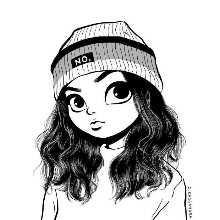 1001 Ideen Und Inspirationen Fur Schone Bilder Zum Nachmalen C Cassandra Madchen Zeichnen Zeichnungen Fur Madchen
