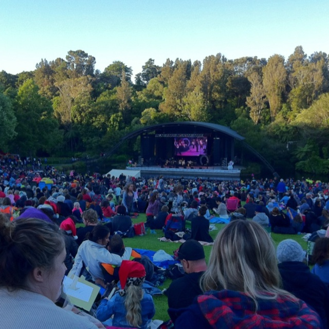Christmas at the Bowl, New Plymouth, New Zealand