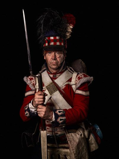 Lance corporal 42nd (Royal Highland) Regiment of Foot Waterloo 2015