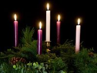Advent Candles ... As we await the birth of Christ! FROM: Vita Frugale: Tradizioni frugali dell'Avvento