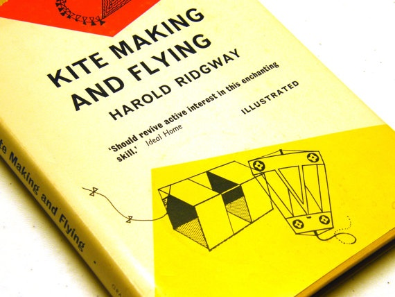 Kite Making and Flying by Harold Ridgway by OwlShop on Etsy, $8.50