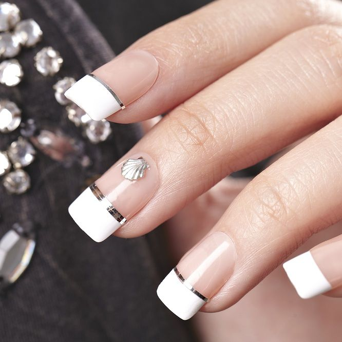 30 best salon acrylic french images on pinterest french for Acrylic nails salon