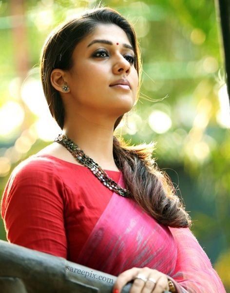 "Heroine Nayanatara saree photos in ""Bhaskar the Rascal"" tamil movie. The beautiful actress is gorgeous in sarees. Kollywood movie ""Bhaskar the Rascal"" hero"