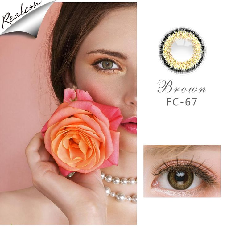 Realcon Romance Cheap Contact Lenses Color Contact Lens For Natural Looking