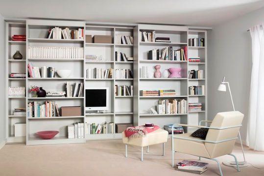 Contemporary bookcase / lacquered RIMA  Ewins