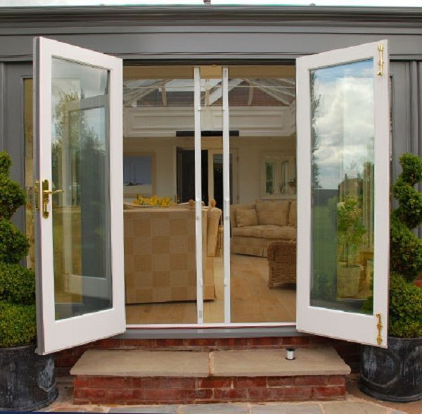 Best 25 exterior french doors ideas on pinterest french for Double opening french patio doors