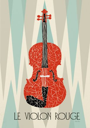 Red Violin by Prelude Posters