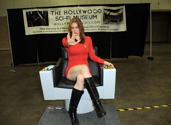 Maitland Ward attends Day 1 of the Third Annual Stan Lee's Comikaze Expo held at Los Angeles Convention Center on October 31, 2014 in Los Angeles, California