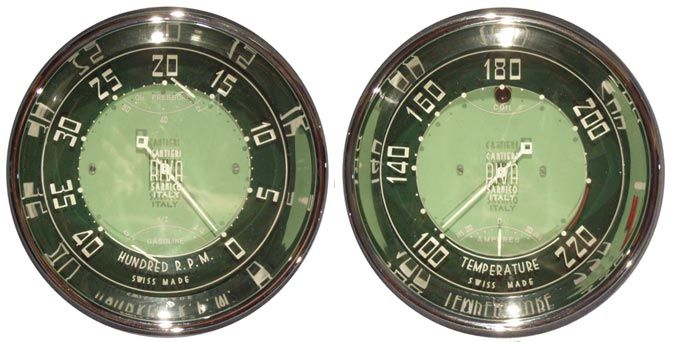 Vintage boat gauges from the classic Italian boat builder ...