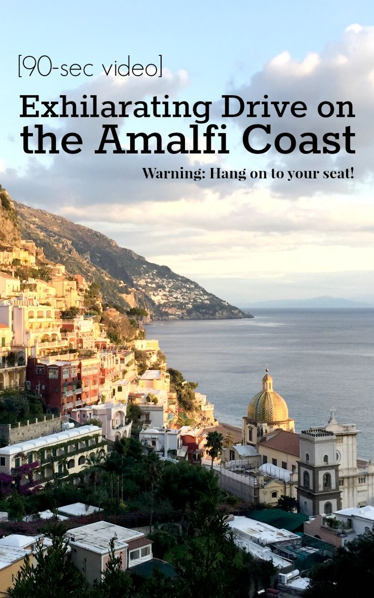 Join us on a fun and exhilarating drive on the Amalfi Coast, a 90-second video on a scooter from Positano to Salerno. Get ready for a wild ride and enjoy some spectacular views on the Amalfi Coast | BrowsingItaly