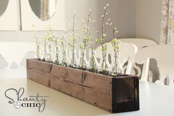 DIY Planter Box Centerpiece ...Diy Centerpieces Boxes, Cute Ideas, Country Decor, Planters Boxes Centerpieces, Easy Dyi Planters Boxes, Diy Planters Boxes, Planter Boxes, Diy Projects, Centerpieces 10