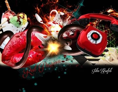 """Check out new work on my @Behance portfolio: """"Red Passion"""" http://be.net/gallery/48626655/Red-Passion"""