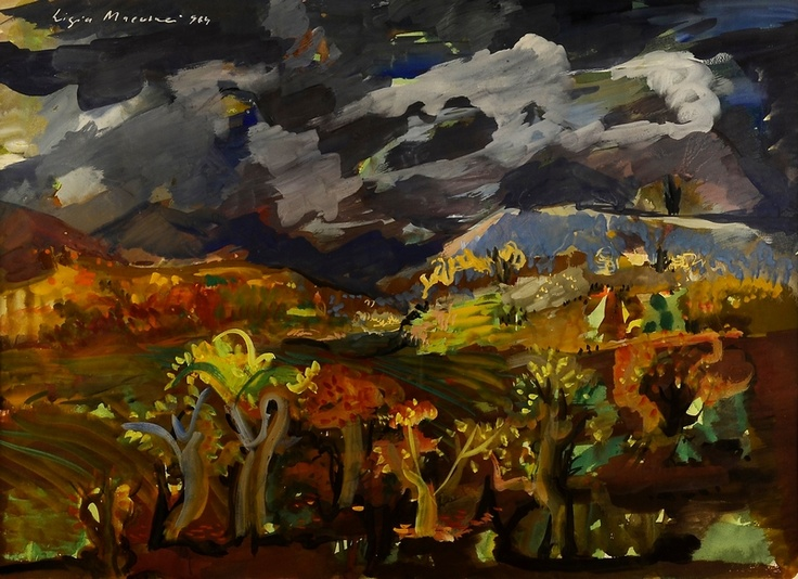 Ligia Macovei - Peisaj colinar