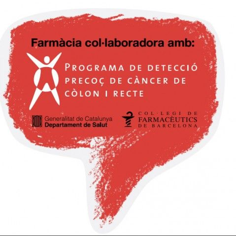 farmacia adherida al programa de detección precoz de cancer de colon y recto