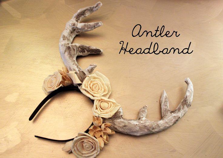 DIY: Antler Headband - arbitraryambrosia