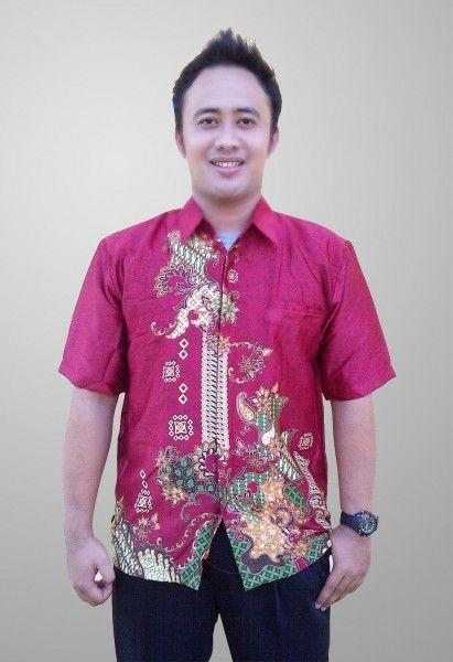 Baju Batik Sunwash Pria Terbaru Motif Abstrak Semi Sutra Kode BS 41 Kirim SMS ke 082134923704