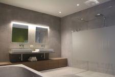 Gestucte Muur Badkamer : Besten badkamer bilder auf bad doppelwaschtisch
