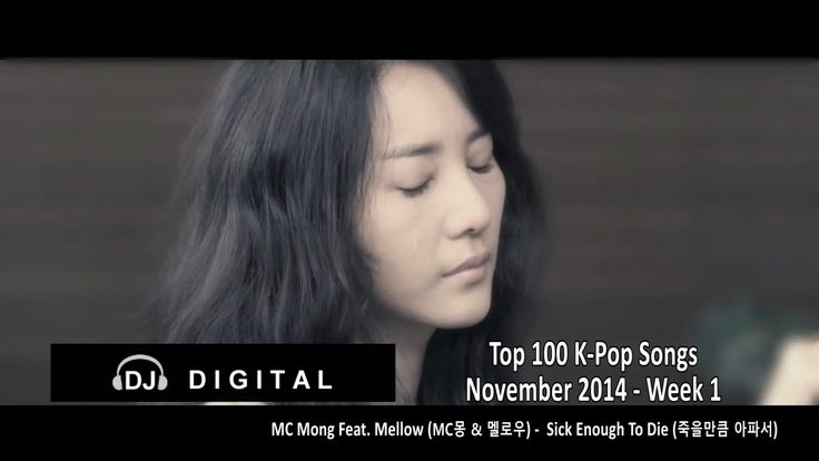 Top 100 K-Pop Songs for November 2014 Week 1