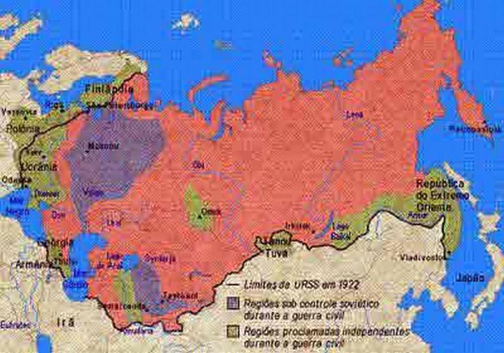 Mapa URSS e Limites