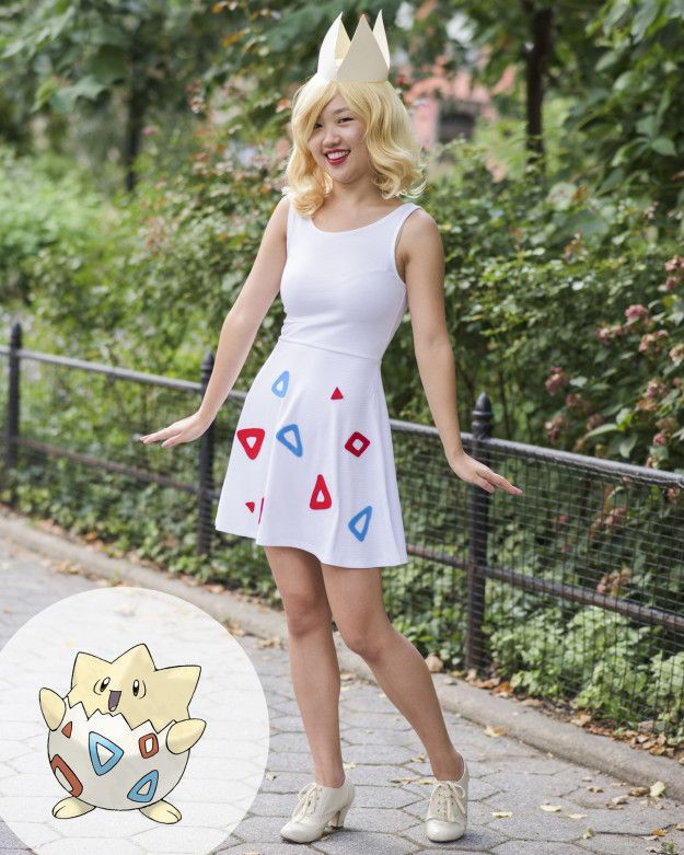 No. 175: Togepi, the Spike Ball Pokémon | 15 Incredibly Easy Pokemon Costumes You Can Make For $30 Or Less