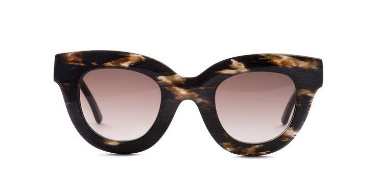 Glare design sunglasses, completely hand made in Italy mod. GLORIA col. DLO