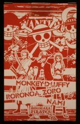 ドミノピザ ワンピース オリジナルフィギュア ルフィ/ワンピース オリジナルフィギュア 赤箱