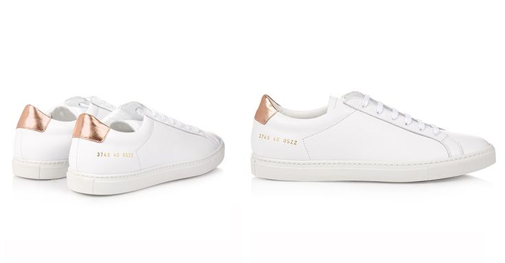 Achilles Retro Leather Low-Top Trainers, £265 | Common Projects