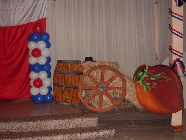 Imagenes de decoración de fiestas patrias en chile - Imagui
