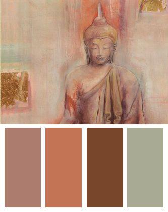 Buddha I Color Palette
