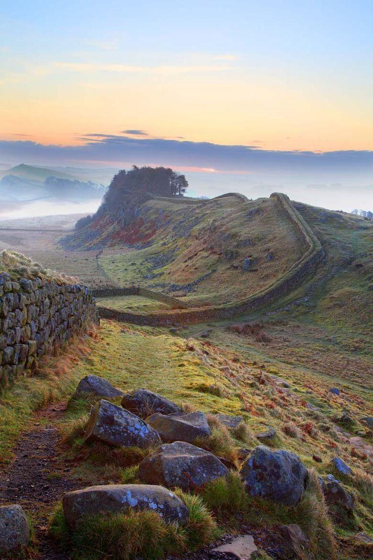 Hadrian's Wall, Northumberland, UK