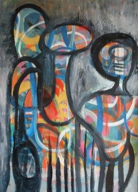 "Saatchi Art Artist Catherine Siciliano; Painting, ""The Enthusiasts"" #art"