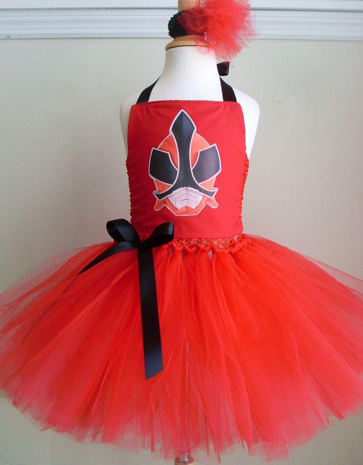 Power Rangers Tutu Dress by 4EverTuTu on Etsy, $34.99