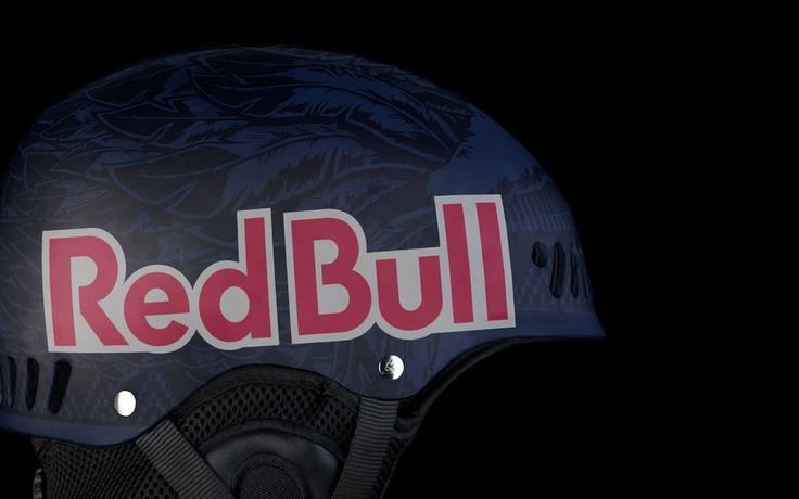 RedBull Helmet Illustration by SB