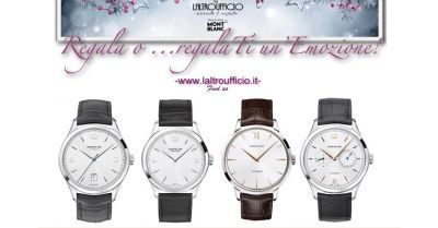 IT'S TIME TO WATCHES - MONTBLANC HERITAGE WATCHES COLLECTION - REGALA O..REGALATI UN'EMOZIONE