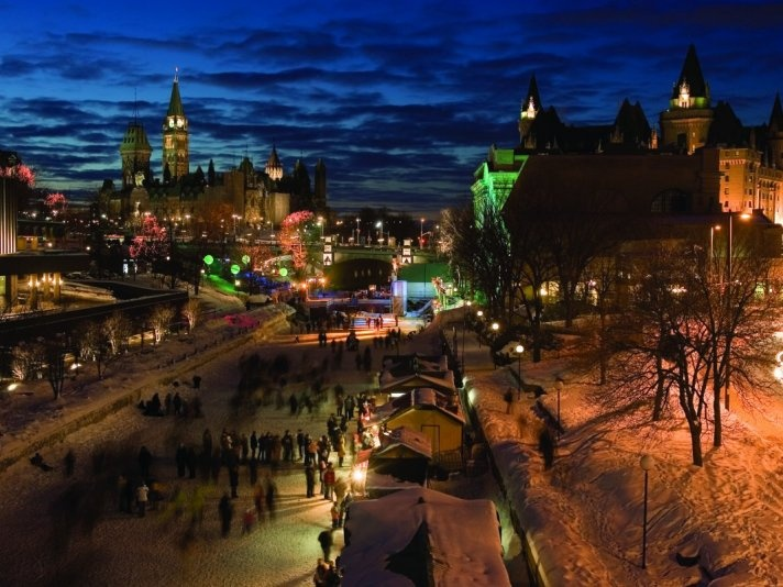 Winterlude in Ottawa, Ont. and Gatineau, Que.