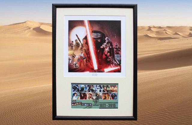 Star Wars Framed Poster