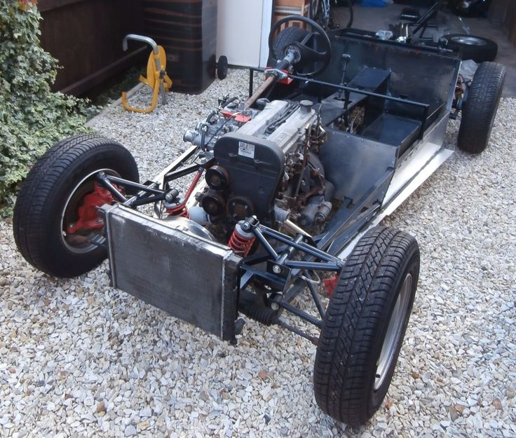 Fisher Fury Chassis - Unfinished Kit Car Project