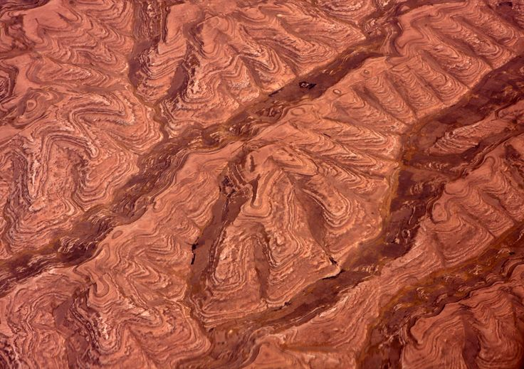 Afghanistan Landscape from the air