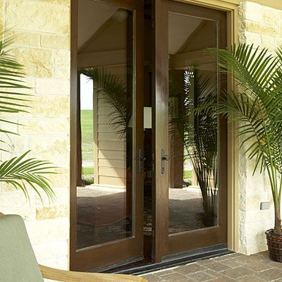17 best images about french doors on pinterest black - Exterior french doors that open out ...