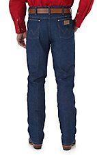 Wrangler Cowboy Cut Rigid Indigo Slim Fit Jeans