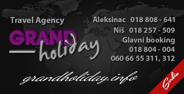 Naslovna - Grand Holiday, Grand Holiday, turistička agencija Grand Holiday, leto 2015, putovanja, grčka leto 2015, sicilija leto 2015, španija leto 2015, bugarska leto 2015, skala furka, polihrono, pefkohori, nea skioni, siviri, nea flogita, neipori, paralija, olympic beach, kalitea, evropske metropole, nova godina