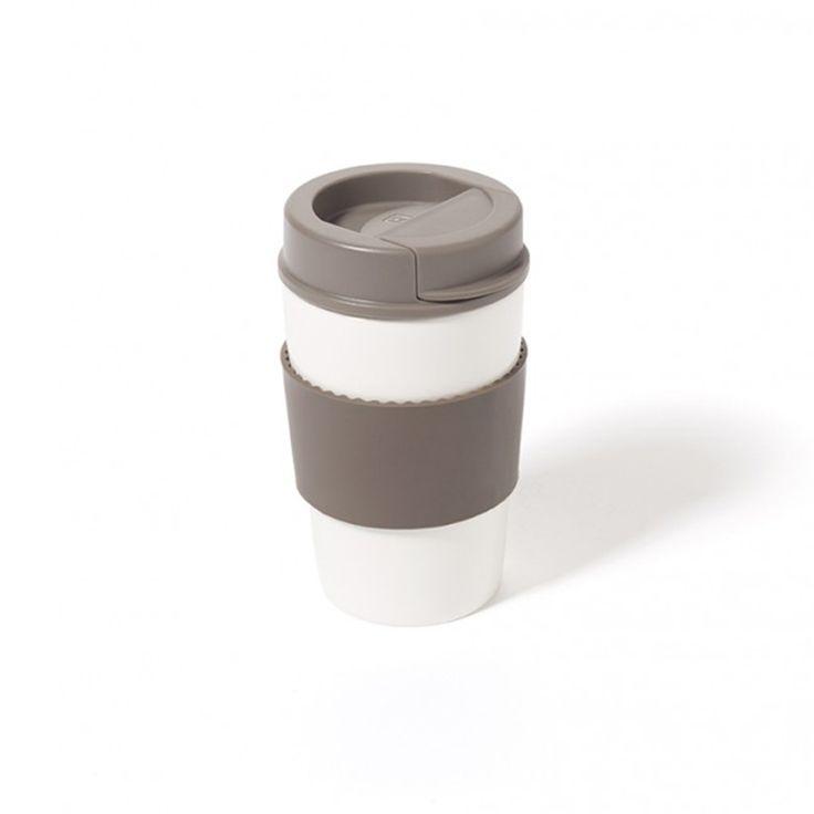Personal Edge : Ricardo 63515 Ceramic Mug with Lid