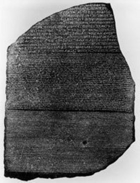The ancient Rosetta Stone was discovered on July 19, 1799. Learn more about the stone and ancient Egyptian hieroglyphics with these books and resources. #homeschool