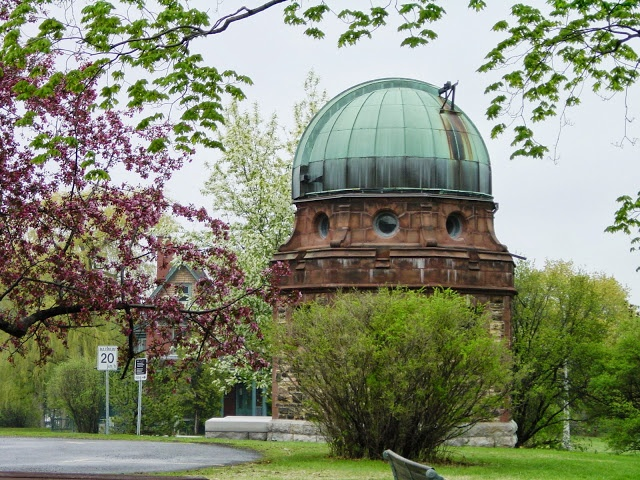By Heather Hall-Davis. The Dominion Observatory in the Arboretum, near Dows Lake