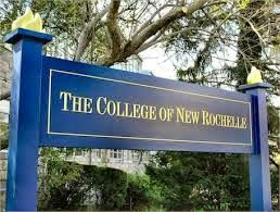 The College of New Rochelle is a private Catholic college with its main campus located in New Rochelle, New York.