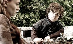 Tyrion and Sansa. I want them to work it out. I really really do.